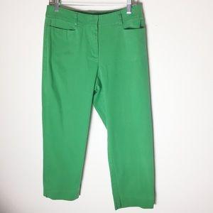Talbots HighRise Skinny Ankle Crop Capris Pants